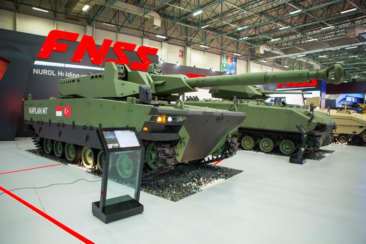 تركيا تكشف عن الدبابه Kaplan MT لأول مرة خلال معرض إسطنبول للصناعات الدفاعية C_eDnJvXcAAA06b