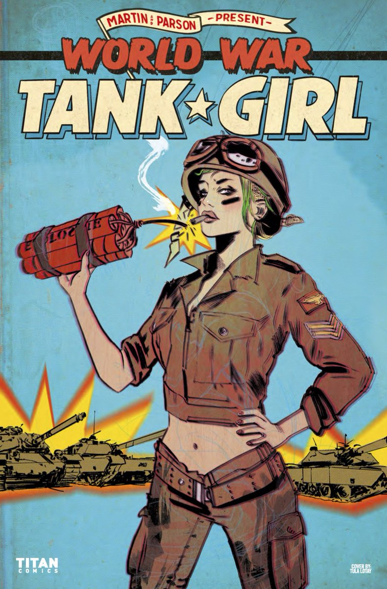 titan comics on twitter out today tank girl storms the third