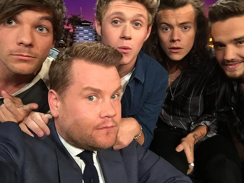 Oh, our hearts </3 James Corden has revealed the late Johannah Deakin asked him 'keep an eye' on One Direction  https://t.co/swWYX876pD