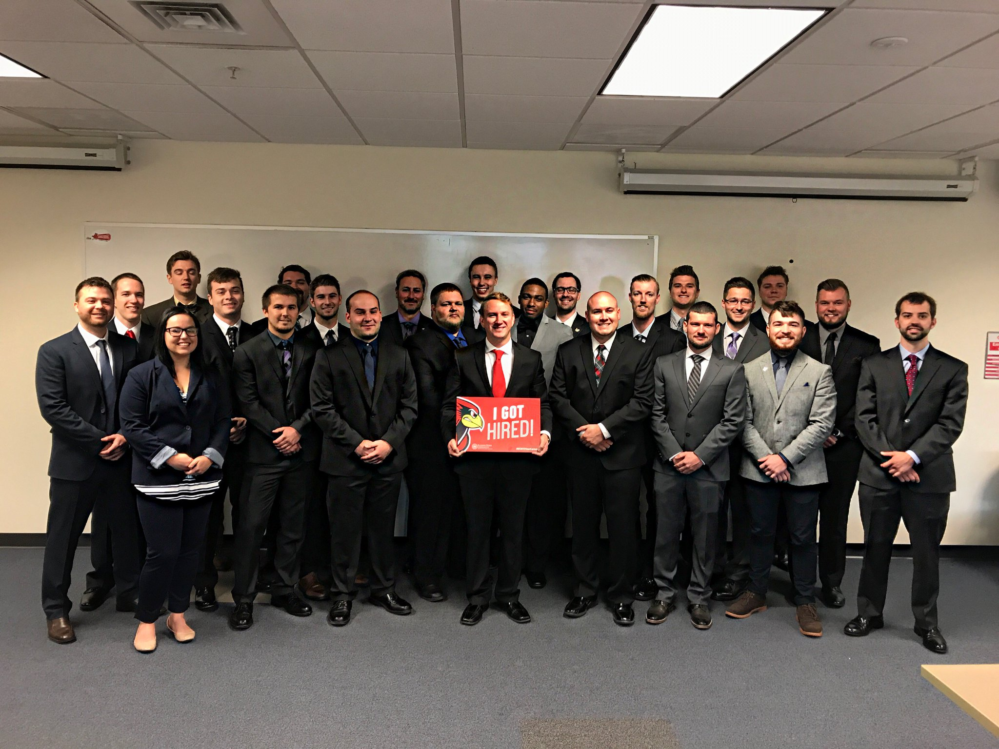 Check out all of our @ISU_TEC construction mgmt graduates!! Each one of them is on their way to a successful career! #STATEYourCareer https://t.co/WNAMESWNNW