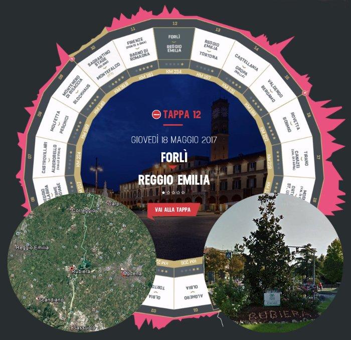 GIRO d'Italia 2017 Tappa 12: Diretta Forlì Reggio Emilia Streaming, attacco alla Maglia Rosa