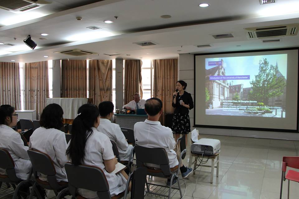 A presentation to introduce the University of Manchester and the research and teaching of DUPP to pharmacists and students at PUTH. #PUTH <br>http://pic.twitter.com/M0vZNjbHIQ