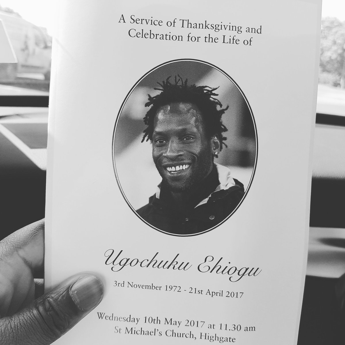 An amazing send off for a great man....