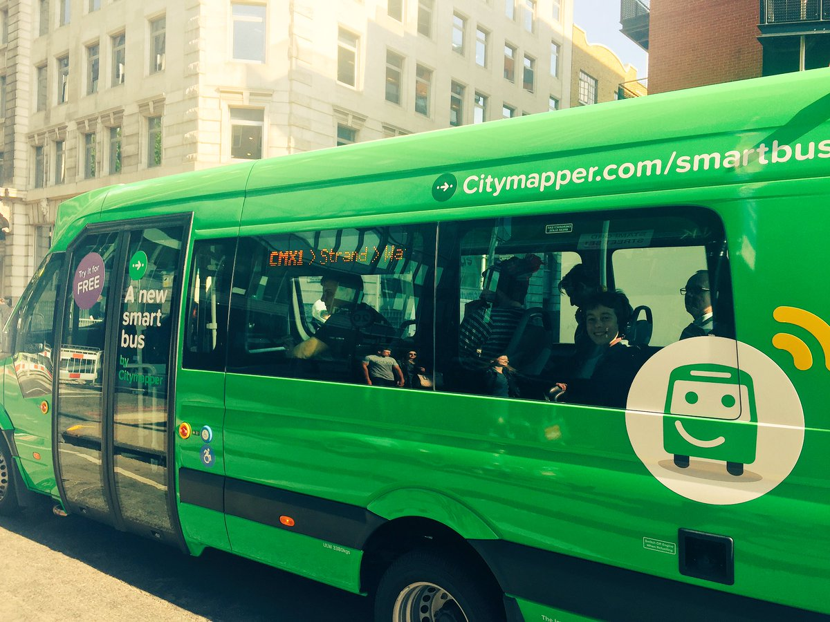 we love this citymapper smart bus launches in london swarm intelligence bus service cutting down congestion