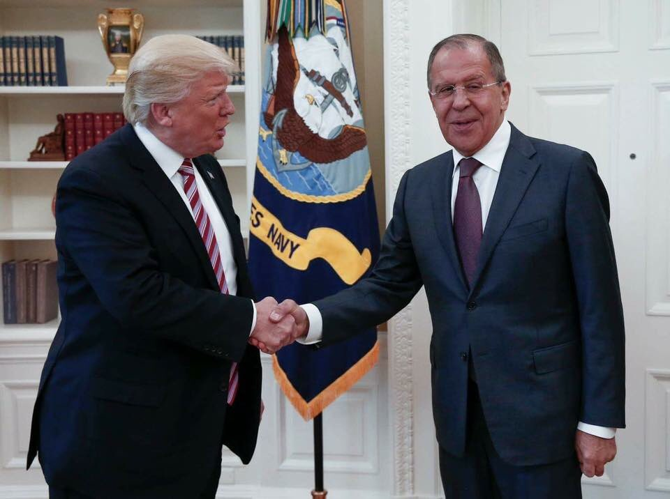 Переговоры Лаврова и Трампа