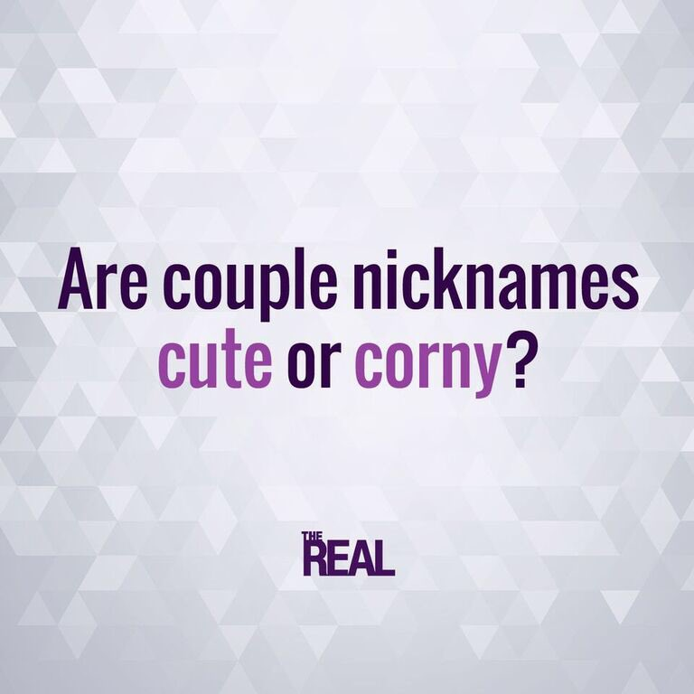 cute couple nicknames