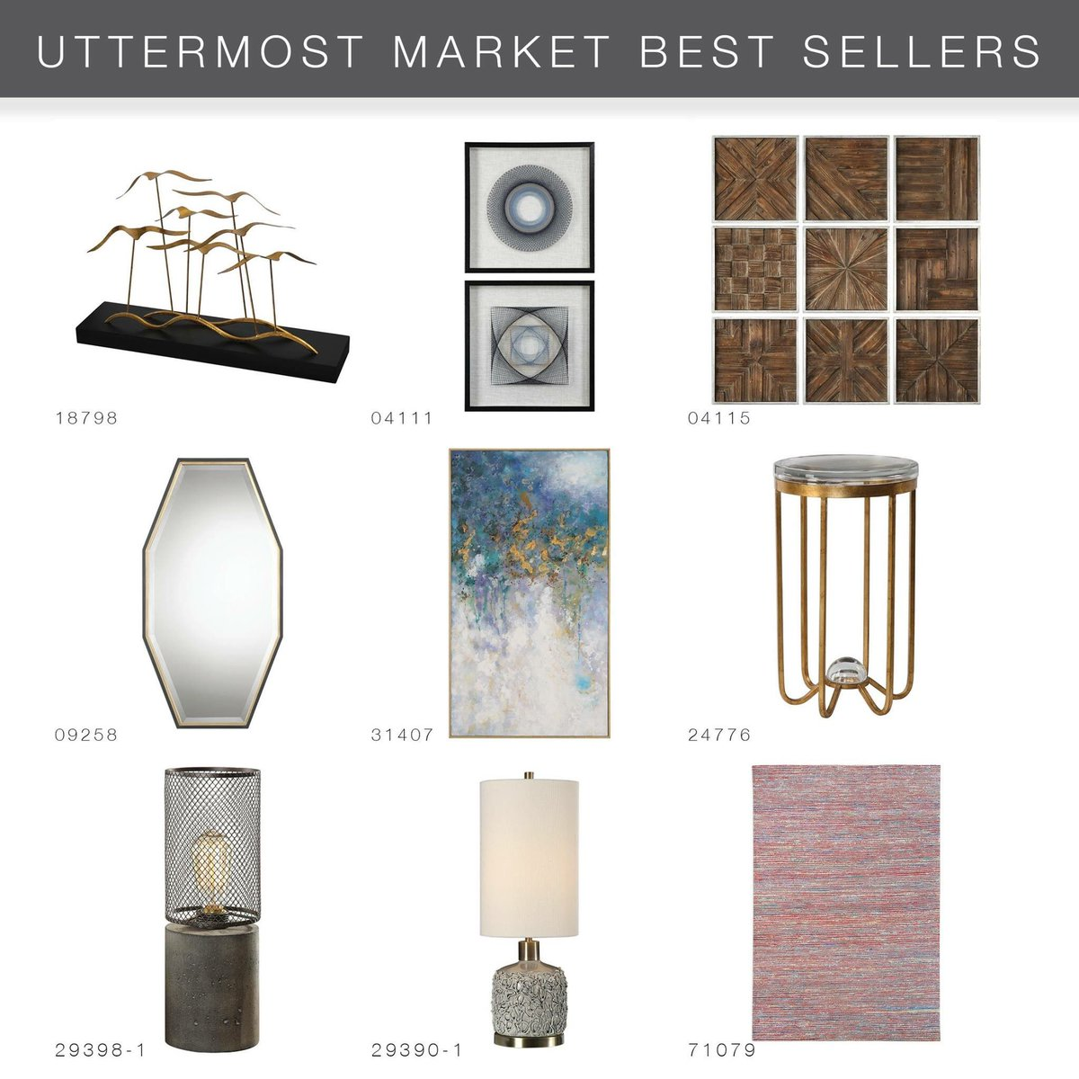 Check them out...then come into #PatdoLightStudio and grab your @UttermostCo beauties! #ProudDistributor  https://t.co/jxjrhK7K8j