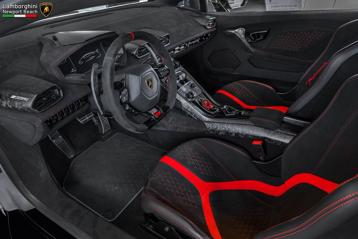 lambo newport beach on twitter the new alcantara and. Black Bedroom Furniture Sets. Home Design Ideas