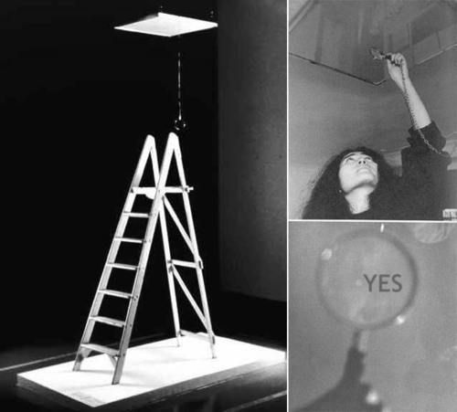 "Yoko Ono on Twitter: ""When I created CEILING PAINTING (1966), I was  depressed at the time. So I wanted to give some positivity to my life.… """
