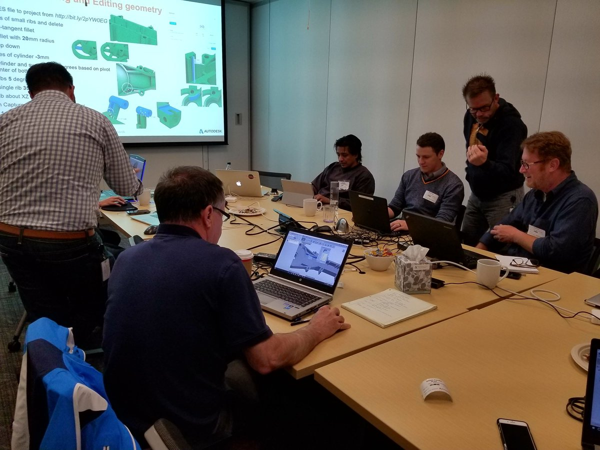 Rob Cohee On Twitter Partner Training Autodesk Hq