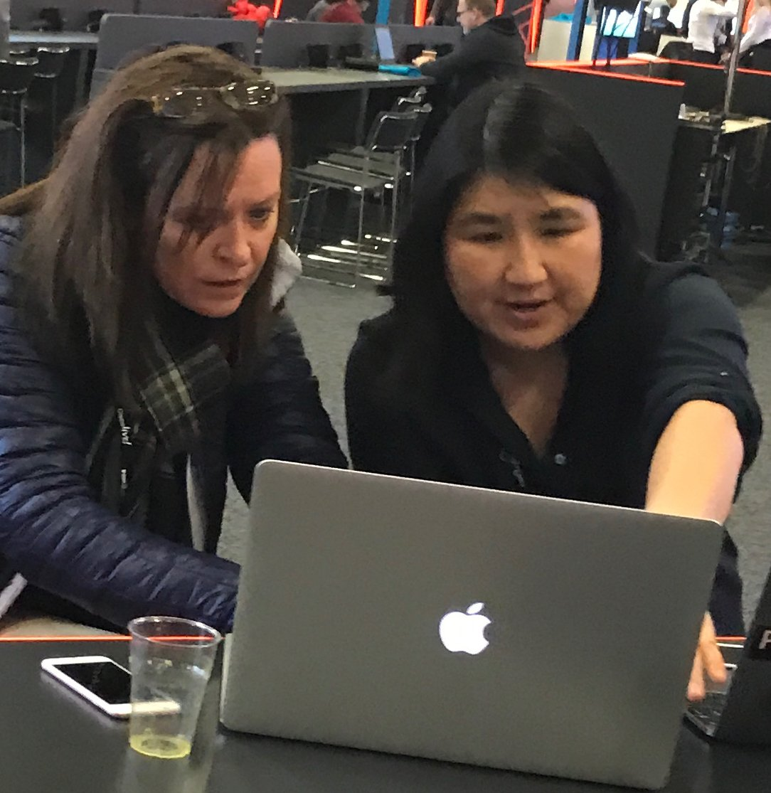 @davidsamuelps @susiewee @DevNetCreate @CiscoDevNet @Kareem_isk @CiscoCloud @CiscoEnterprise @meraki @CiscoSparkDev @MikeRMackay @rtywonia @mandywhaley That is why she is our fearless leader! #AlwaysReady #CiscoChat #DevNetCreate https://t.co/VDl8dIGdwn https://t.co/Hi0loamKXO