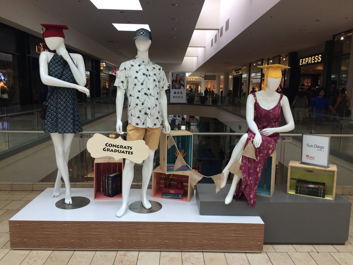 e2e9521f42676 Here is another display at Westfield Plaza Bonita featuring  CharlotteRusse
