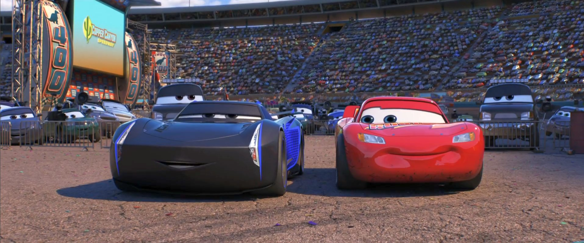 Cars 3 Rivalry Trailer Featuring Lightning McQueen & Jackson Storm