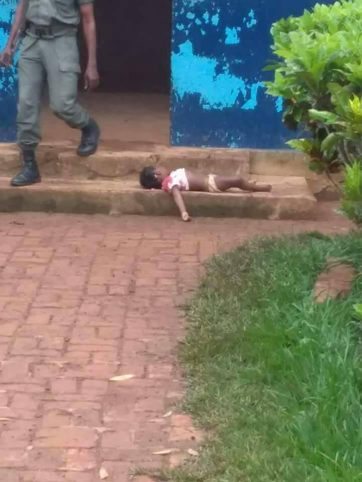 Congo: grosse bourde de la police! Une fillette de 3 ans tuée. Photo