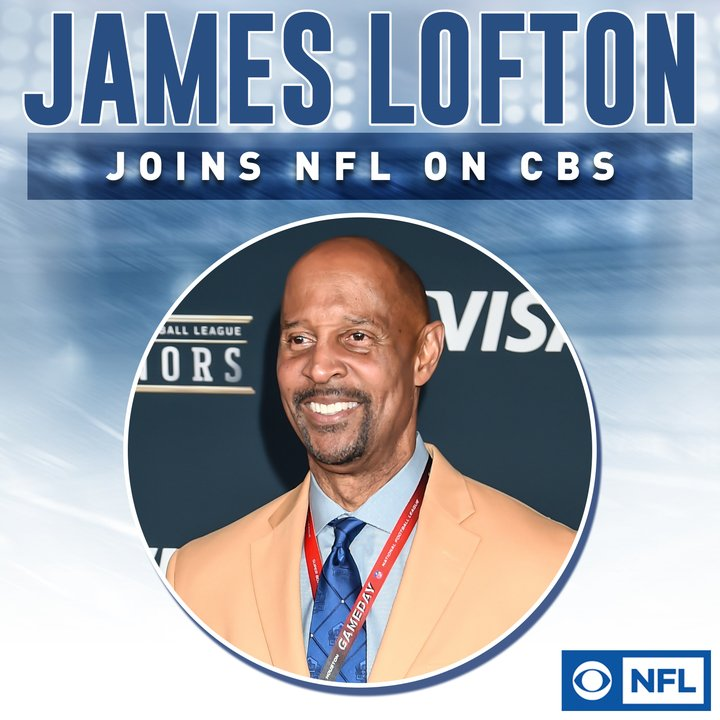 Image result for James Lofton to CBS from Westwood One