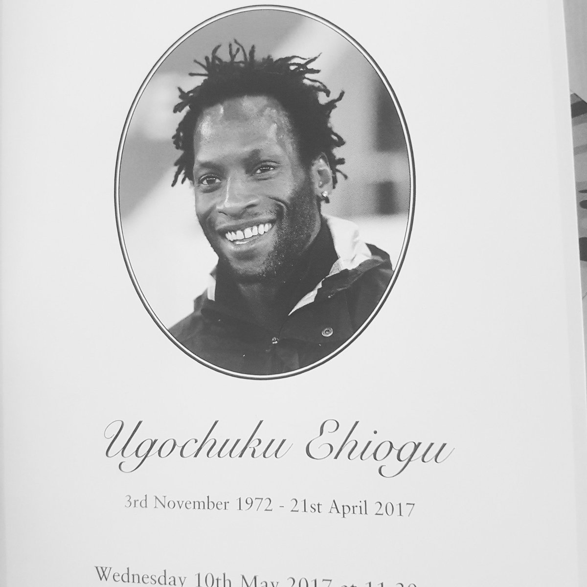 #UgoEhiogu the day was nice #1Salutes   #Hackney represented you alongside the world of football <br>http://pic.twitter.com/StrfsdA5kq