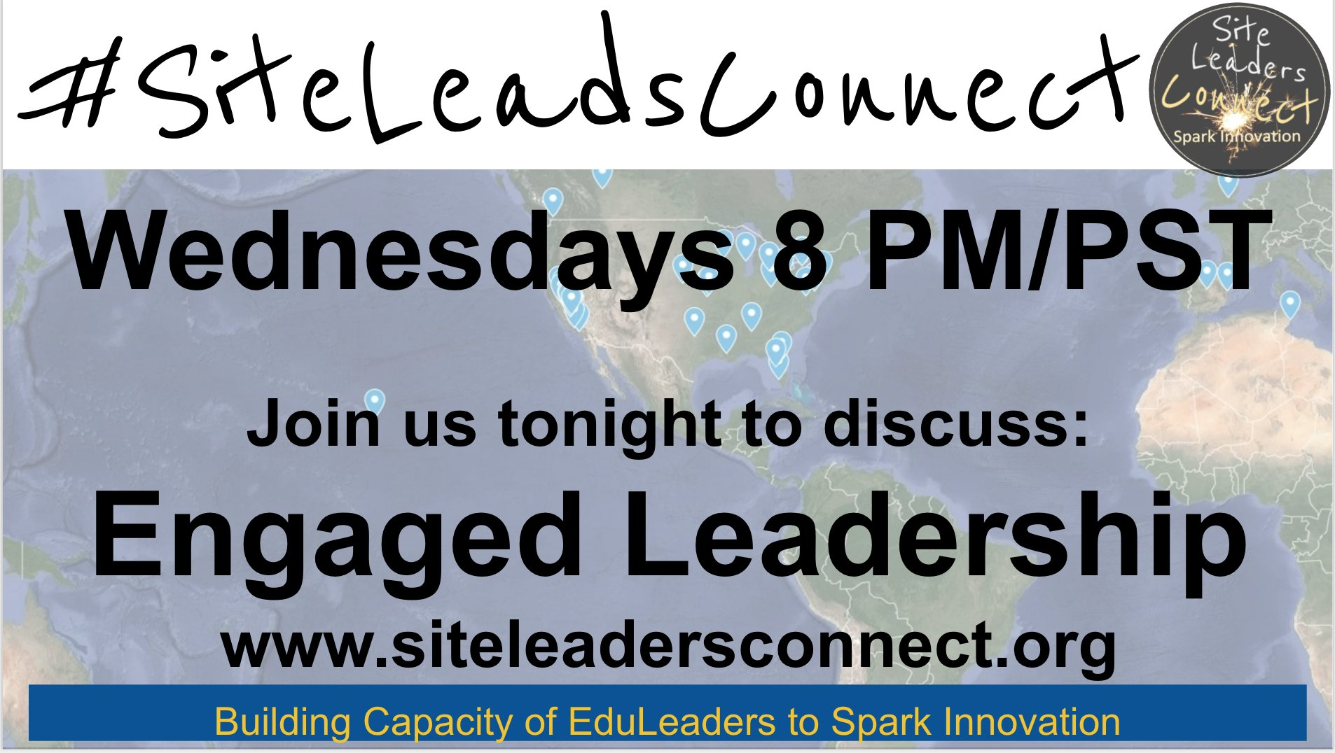 Hey #cvtechtalk, still in the mood to talk? Join #siteleadsconnect now to discuss: Engaged Leaders - Remaining Connected to Student Learning https://t.co/R5s1jlkn8C