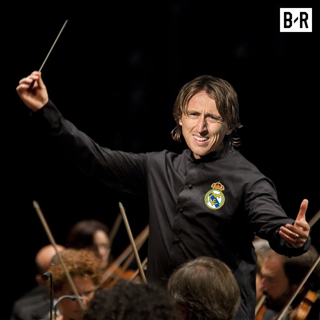 The maestro is doing his thing #Modric