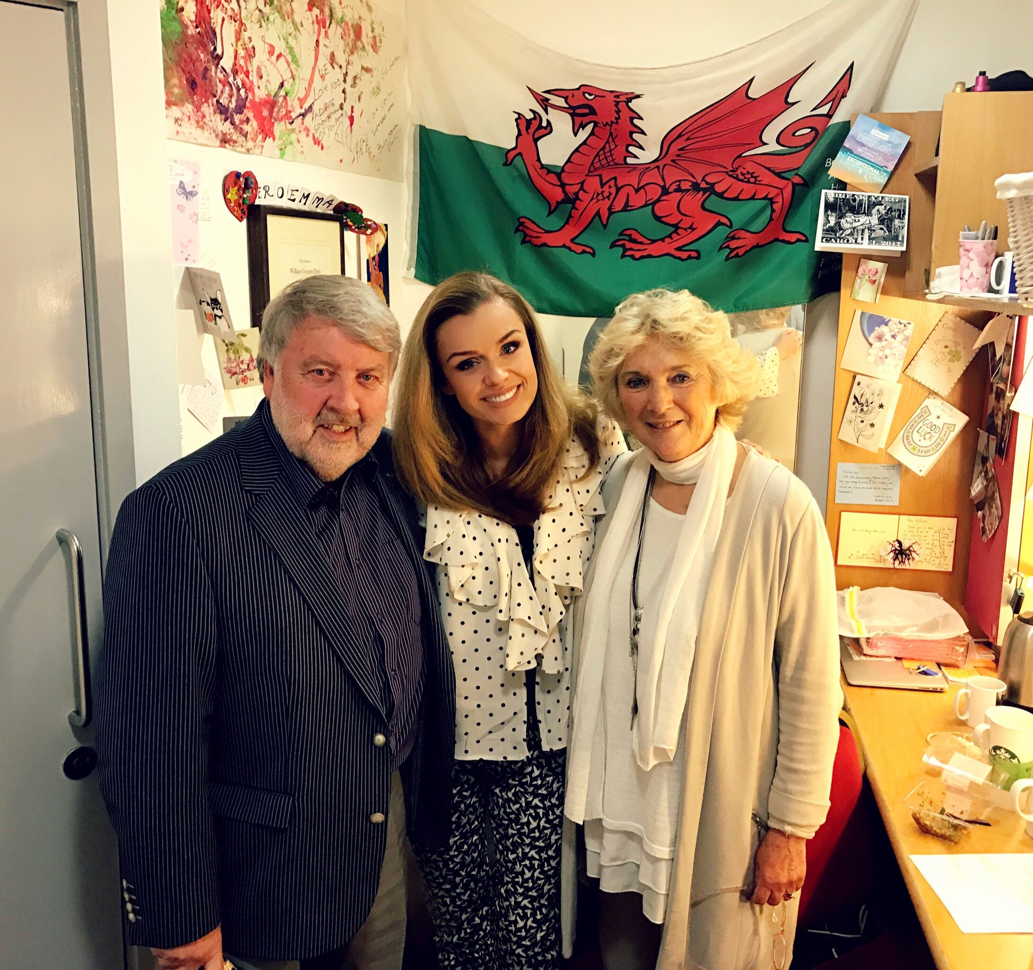 Just lovely having Welsh legend #RoyNoble and his wonderful wife Elaine at today's Matinee #Carousel https://t.co/WZiWbketyv
