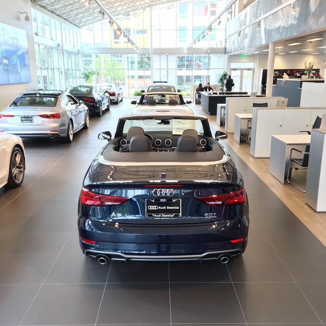 Audi Seattle On Twitter This Cosmos Blue A Quattro Cabriolet - Audi seattle