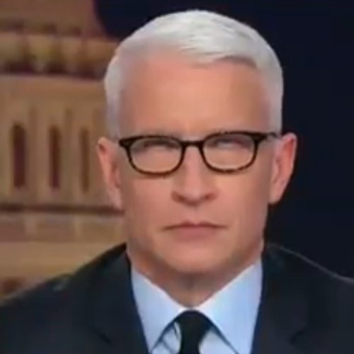 Childish Anderson Cooper rolls his eyes while getting owned by Conway