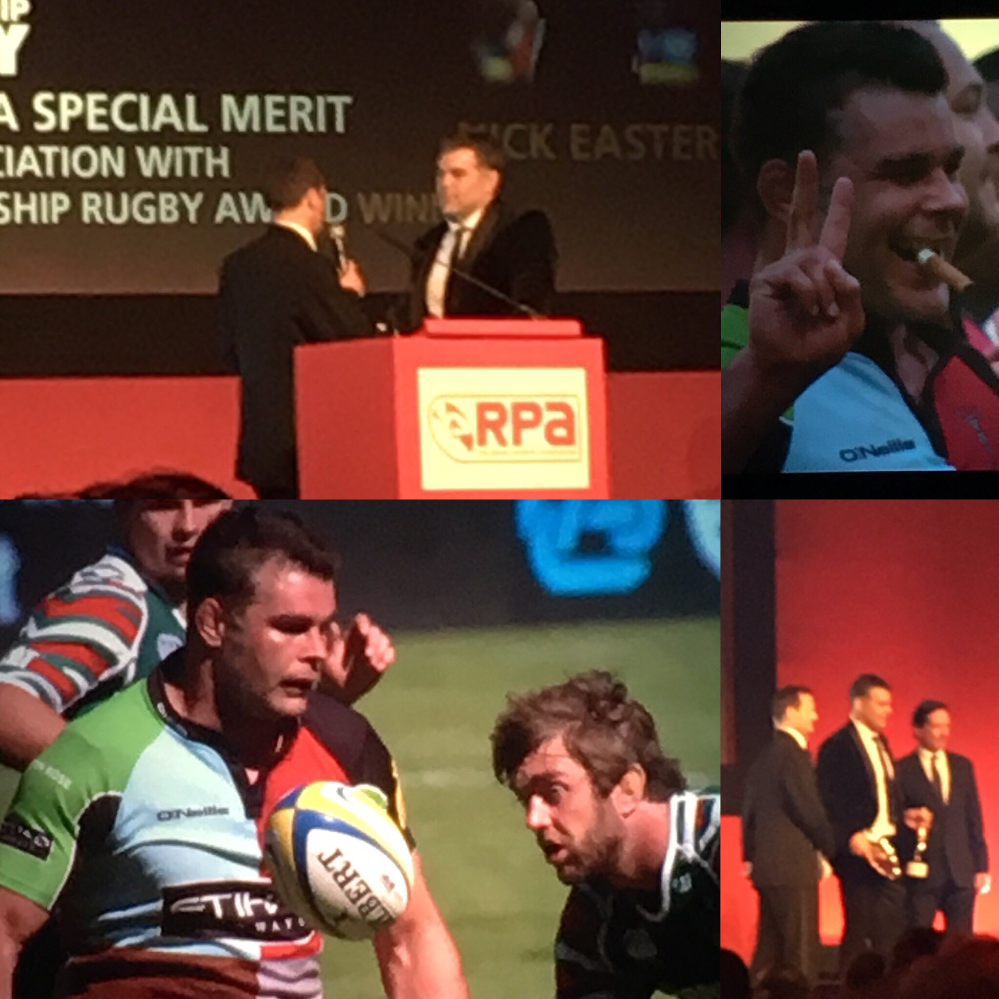 Great to see our Ambassador Nick Easter @Harlequins being recognised @theRPA Awards #RugbuWorks https://t.co/3KDP1a10T3