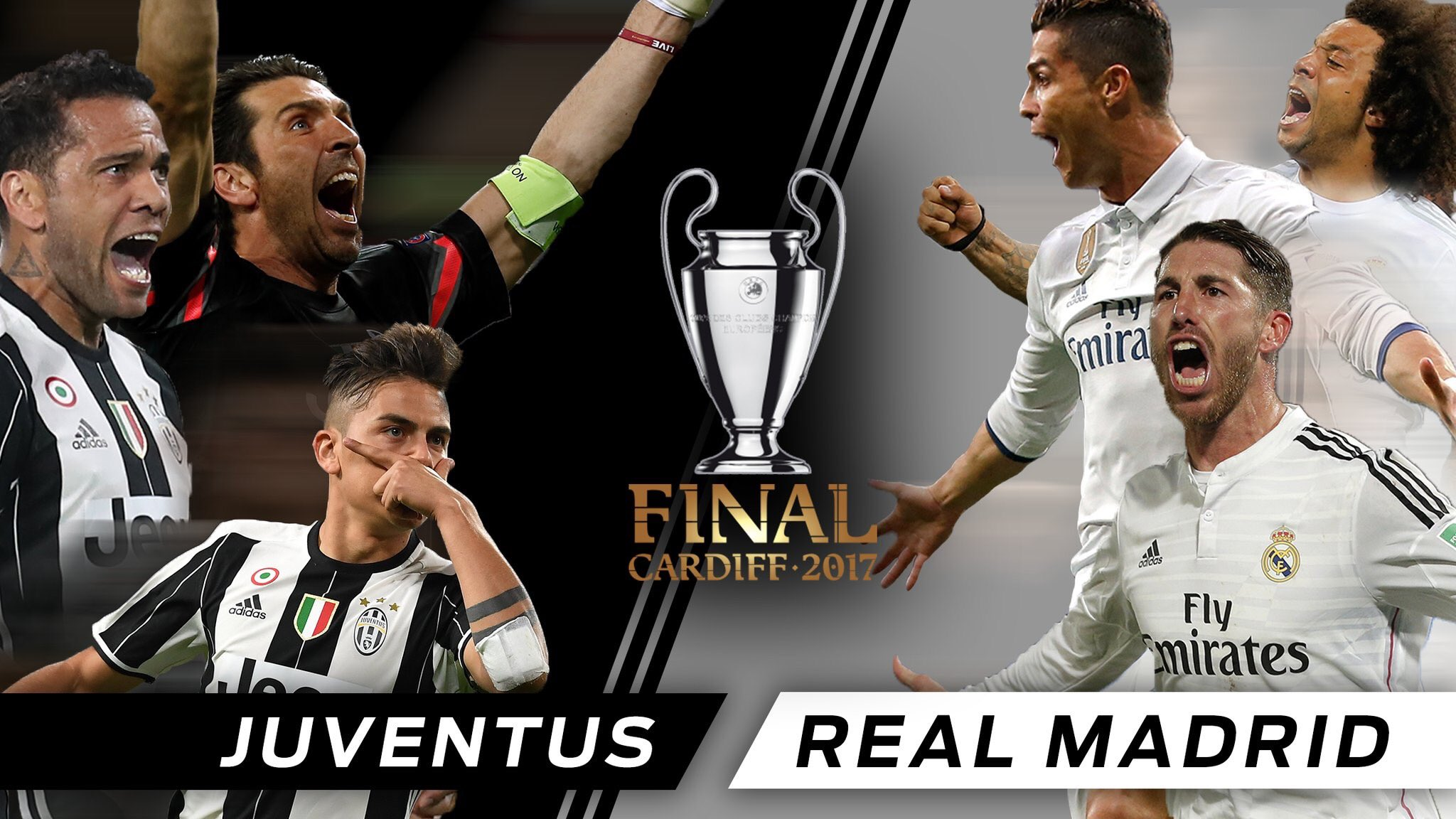 Chung kết champions league, champions league, Juventus vs Real Madrid, Juventus, Real Madrid