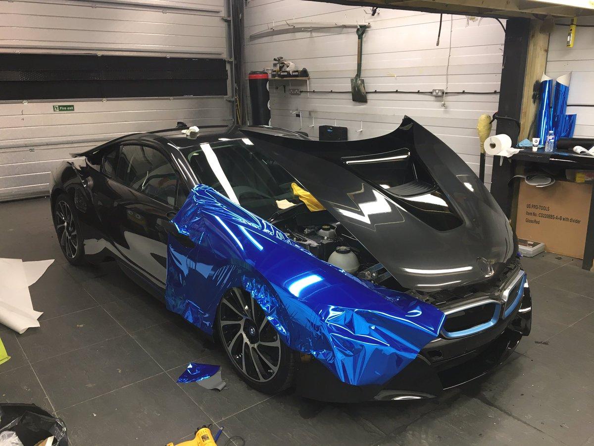 Yianni Charalambous On Twitter Chrome Blue Bmw I8 For BMWi Yiannimize