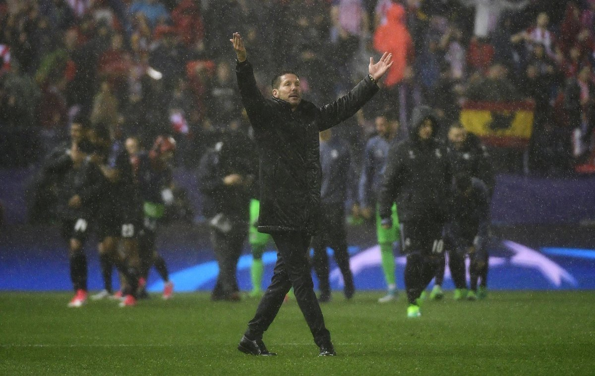 Because of you.. @Simeone  We became believers, dreamers and fighters to achieve everything!  #AupaAleti  <br>http://pic.twitter.com/j5JDoMgiTU