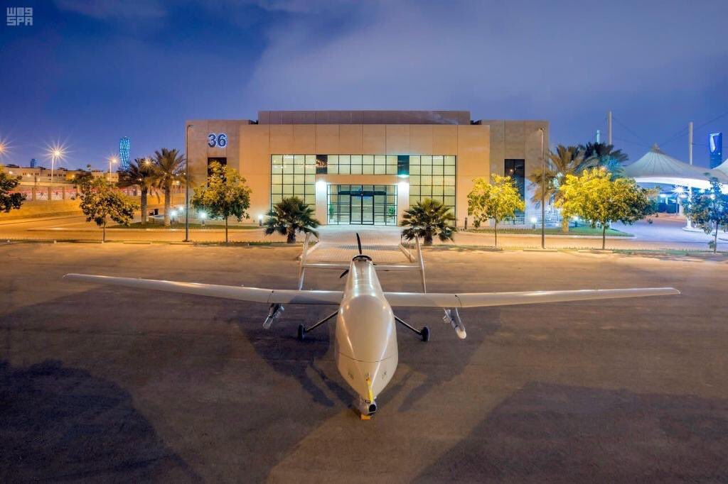 """السعودية تكشف عن طائرة """"صقر1"""" المتطورة دون طيار  C_fvg-rWAAEjNvK"""