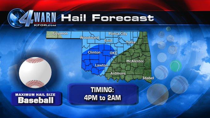 LIVE: Oklahoma severe weather updates