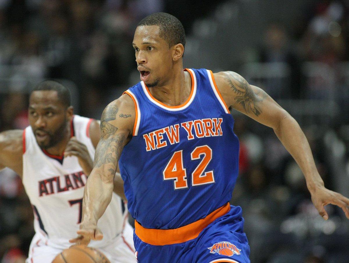 "Athlete Appearances on Twitter ""NEW YORK KNICKS LANCE THOMAS"