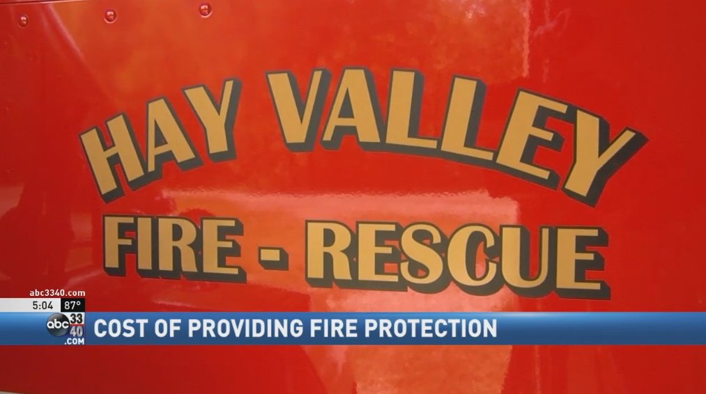 2,000 people without fire protection if walker county volunteer fire