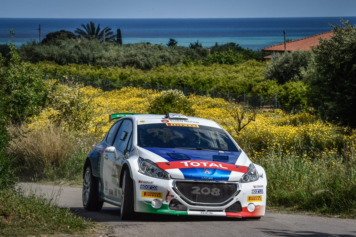 - 2 to @RallyAdriatico!  @ucciussi  @AndreucciPaolo  are ready to get on track!  #iamsparco @peugeotitalia https://t.co/xZNiBdWqT6