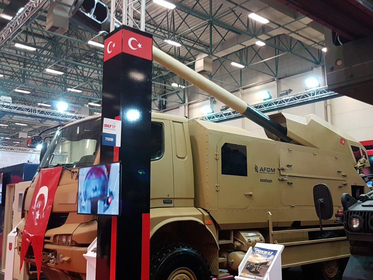 المدفع التركي الجديد Kamyona Monteli Obius عيار 155 ملم  ذاتي الحركه  C_hvx8OWsAA_-S5