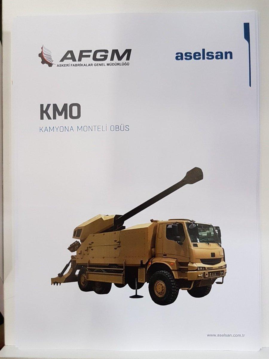 المدفع التركي الجديد Kamyona Monteli Obius عيار 155 ملم  ذاتي الحركه  C_hvy4gXkAAirw2