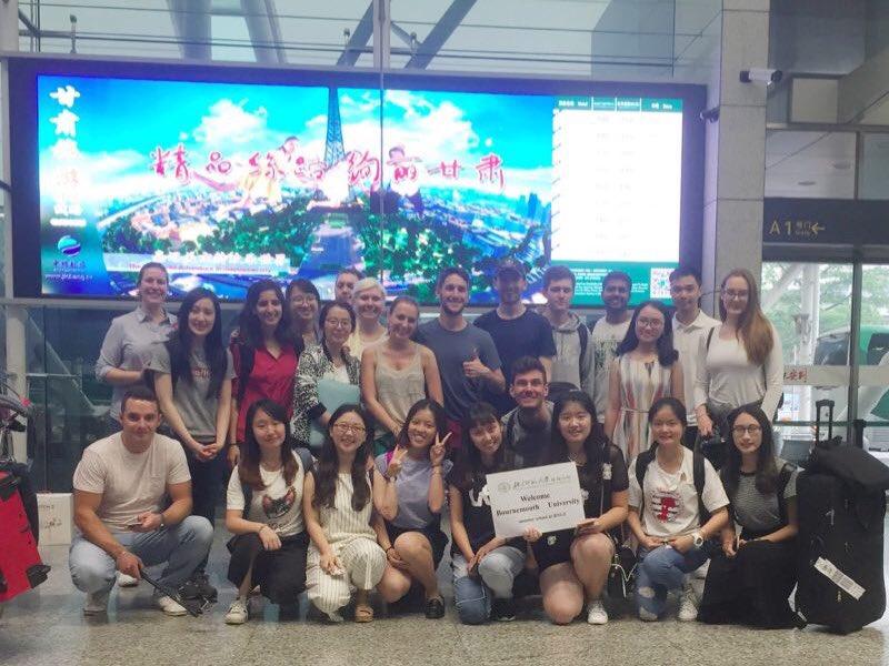 Very proud of @bournemouthuni students starting their Destination China Programme @GlobalBU #buproud #GFoL17 https://t.co/5TVUVZ8tms
