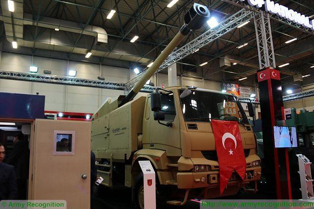المدفع التركي الجديد Kamyona Monteli Obius عيار 155 ملم  ذاتي الحركه  C_hywiEXgAENdHf
