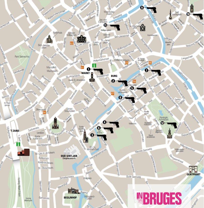 Visit Bruges on Twitter Cool InBruges film locations you can