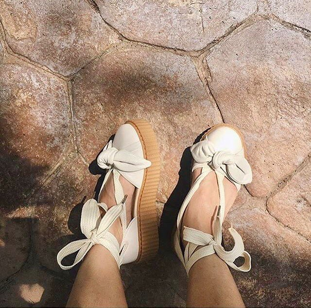 best loved 76010 c6195 Rihanna's New Puma Fenty Bow Creeper Drops Today! | Lipstick ...