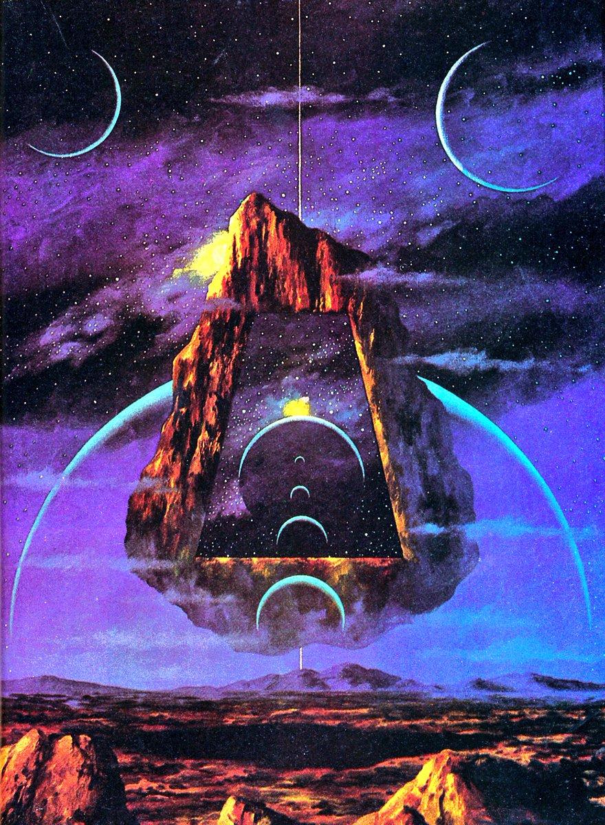 Scifi Art On Twitter Steve R Dodd Space Fantasy Series 1970s 80s