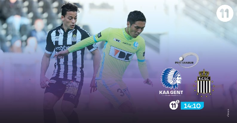 Will @SportCharleroi win against @KAAGent ? Follow the match on Proximus TV. #pxs11 #GNTCHA<br>http://pic.twitter.com/5v5GFp30DN