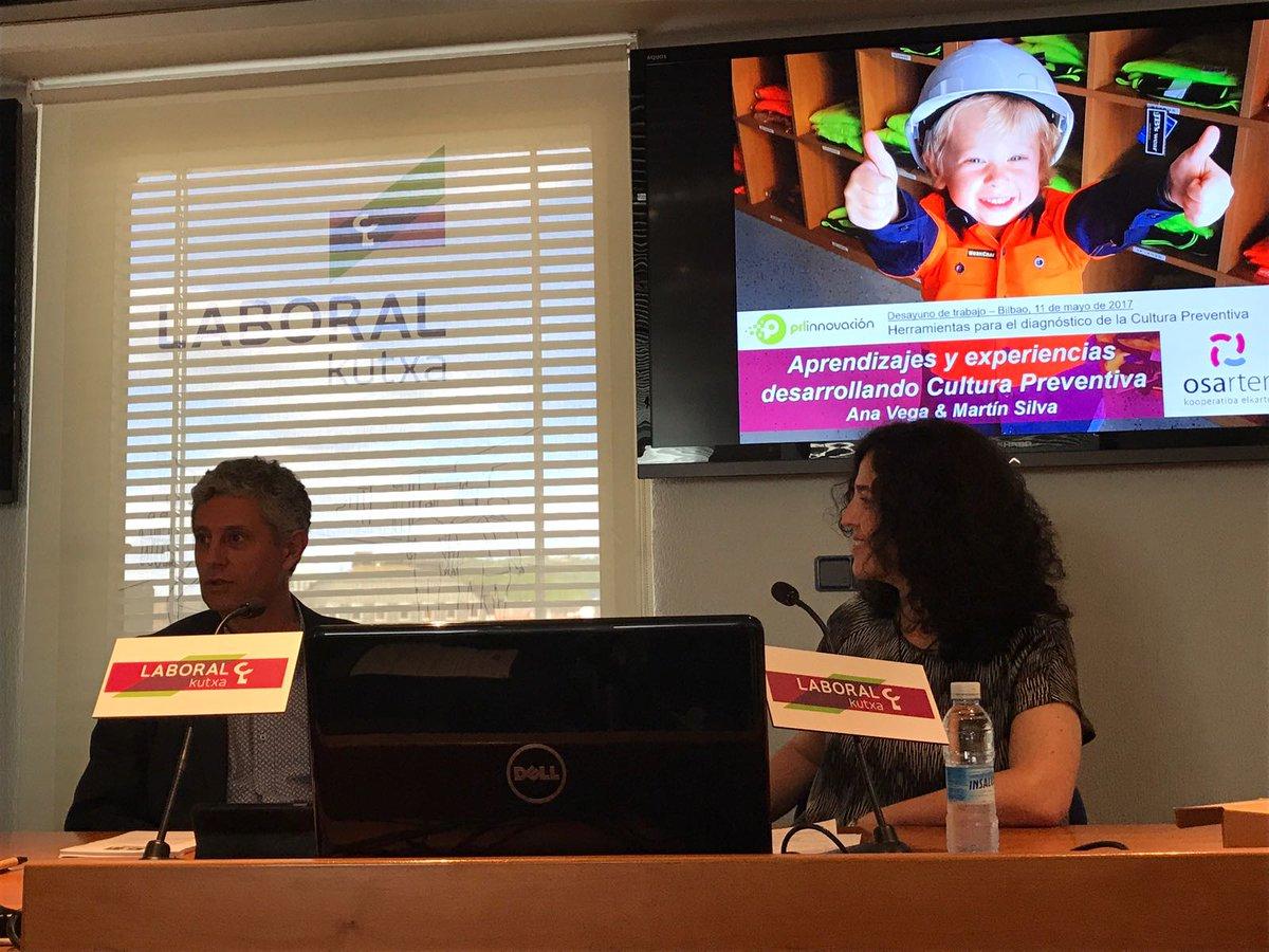 test Twitter Media - Cuentan su experiencia los compañeros de @osarten en #culturapreventivaBilbao @PRLInnovacion  @imastresprl https://t.co/BLeDgWGpDV