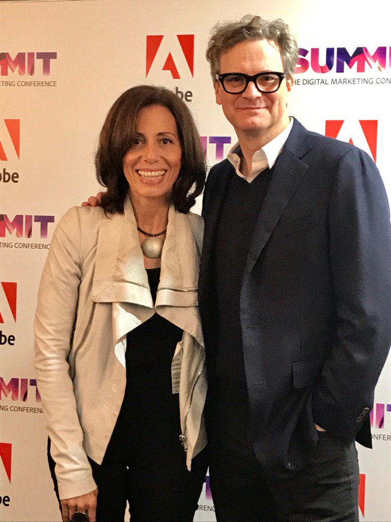Backstage with ColinFirth. #adobesummit https://t.co/MCOYxQFj9Z