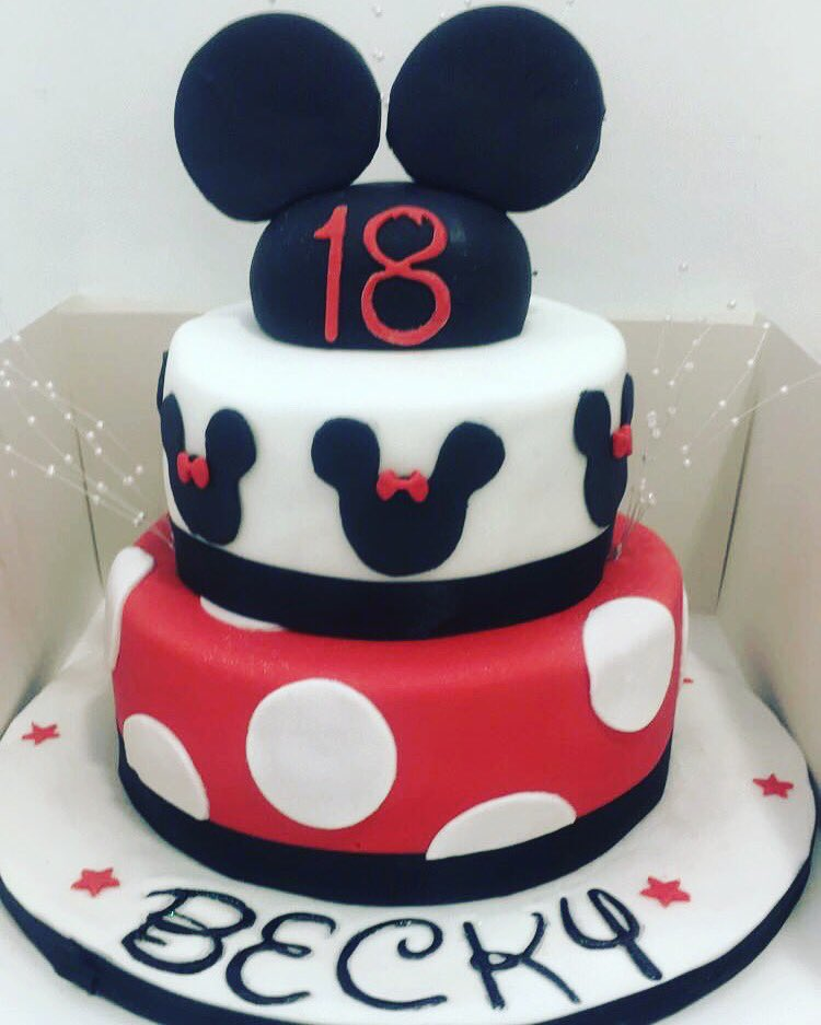 """The Little Cake Shop On Twitter: """"A Disney Themed 18th"""