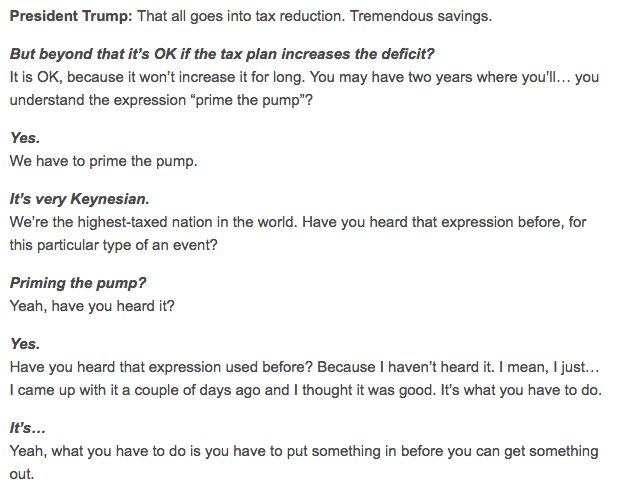 The highly entertaining transcript from our editors' interview with @realDonaldTrump
