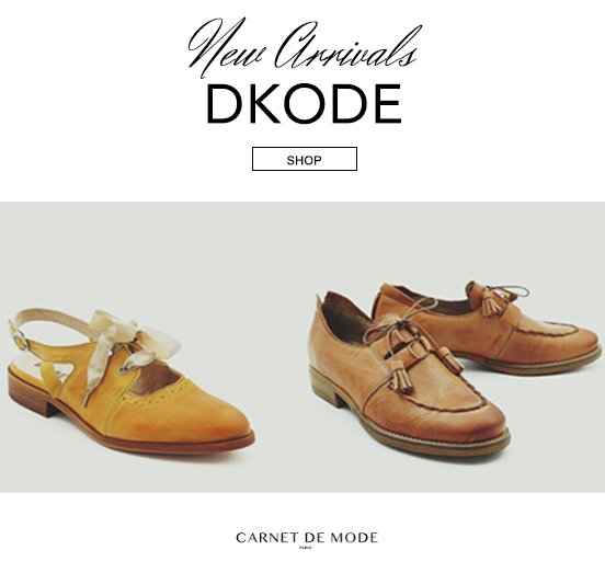 Looking for a new pair of shoes ? Have a look at DKODE new collection on @CarnetDeMode : https://t.co/4bvt8XUOfg https://t.co/shAVLS1Qwc