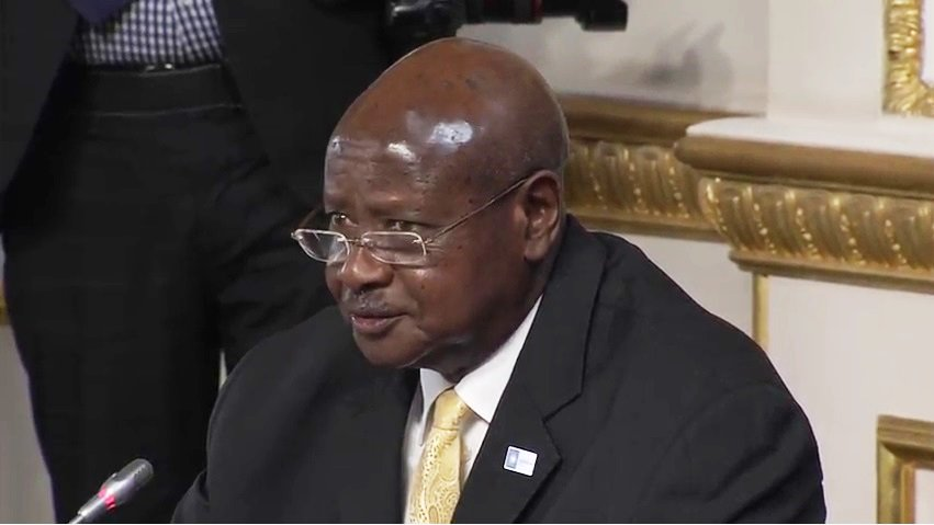 #somaliappd: H.E President of Uganda Yoweri Museveni on Security in Somalia &Troop contributing countries. #FutureforSomalia #NabadIyoNolol https://t.co/B3o1fZL8ug
