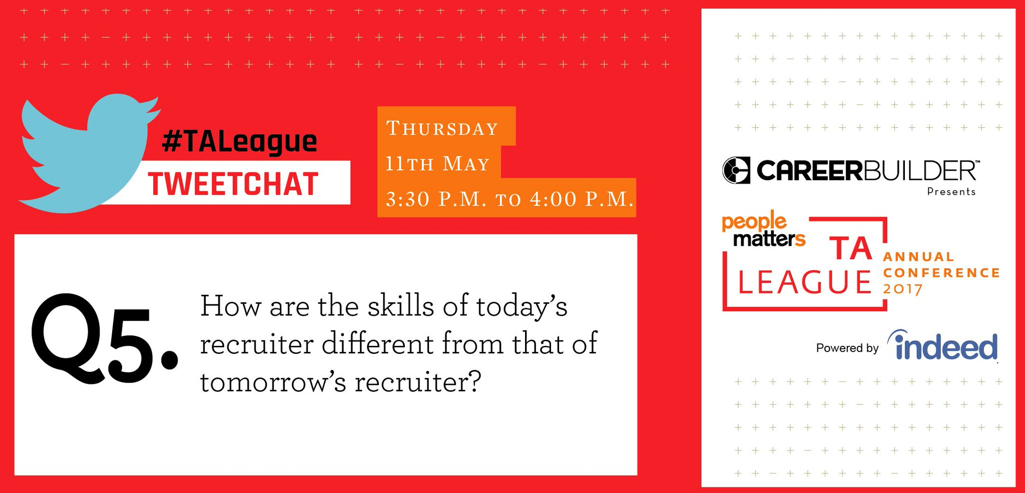 Thumbnail for #TALeague tweetchat on Right-Recruiting-Right