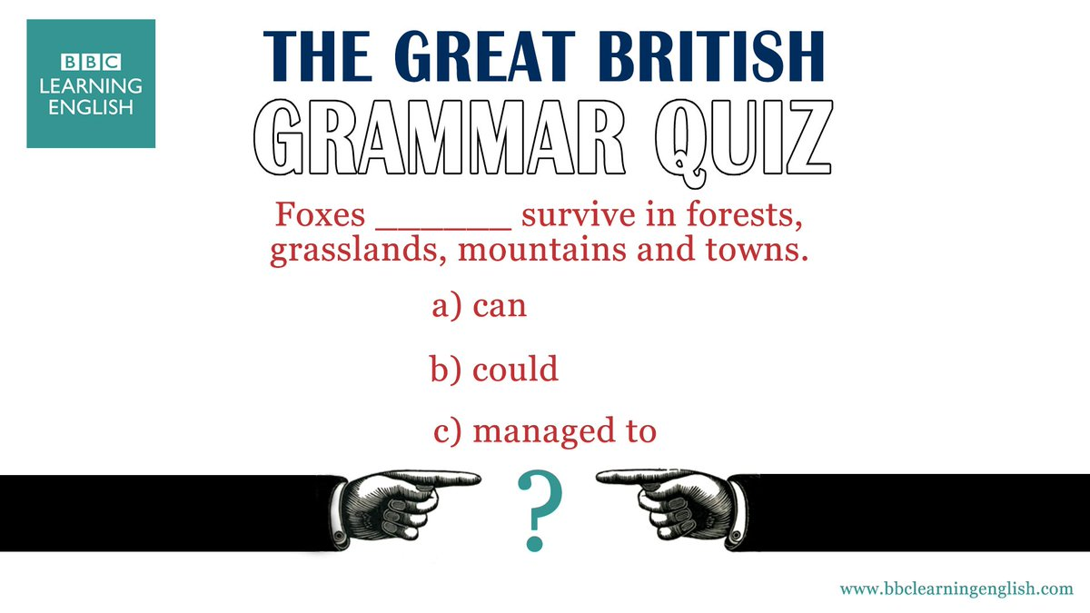 💪 Can you survive this grammar quiz?! 💪  The answer is here: https://t.co/qGal18EbzJ  #learnenglish #esl